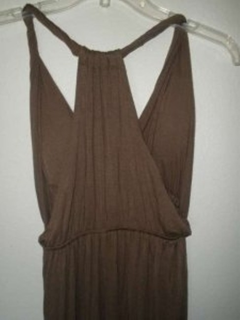 Brown Maxi Dress by Zenna Outfitters