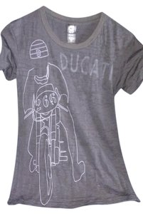 Ducati T Shirt Dark Gray