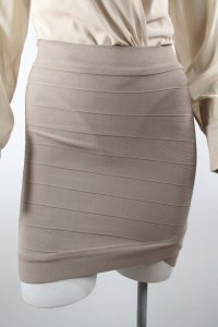 Guess Rayon Abbey High Skirt Taupe