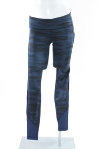 Lululemon Lululemon Navy Blue Black Camouflage Print Leggings