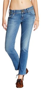 Hudson Jeans Slim Cropped Low Rise Skinny Jeans-Light Wash