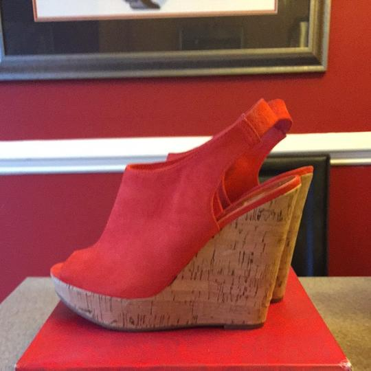 Carlos by Carlos Santana Orange Wedges