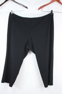 Eileen Fisher Stretch Flat Front Cropped Dress Trousers Plus 24w Pants