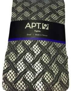 Apt. 9 Apt. 9 Diamond Black Tights