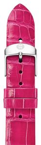 Michele Authentic Michele ALLIGATOR Hot Pink Watch Band MS18AN010650