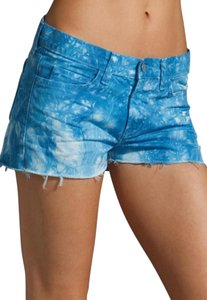 J Brand Cut Off Shorts Blue