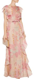 Valentino Ruffled Gown Gown Dress