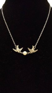 Two Swallows Necklace