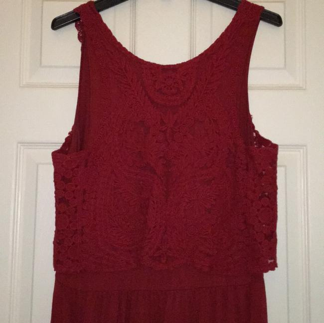 Anthropologie short dress Red on Tradesy Image 4