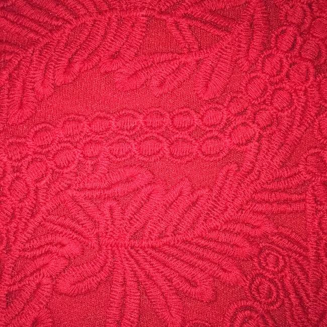 Anthropologie short dress Red on Tradesy Image 7