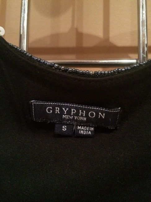 Gryphon Top Navy with whit stripes