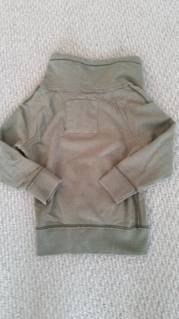 American Eagle Outfitters Zip Up Yoga Sweatshirt Hoodie Fitted Gym Sweater