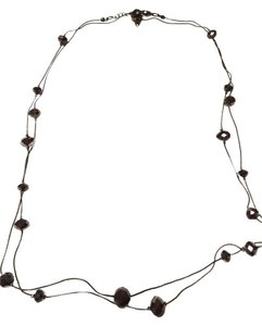 Van Heusen Brand NEW! Thin & Long Beaded Bronze Necklace!