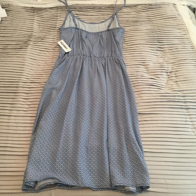 Old Navy short dress Blue and white on Tradesy Image 2