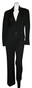 Façonnable FACONNABLE PLATINE BLACK VIRGIN WOOL SUIT MADE IN ITALY SIZE 36/38