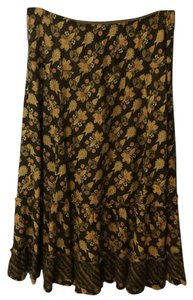 Anthropologie Maxi Skirt Multi colored