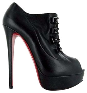 Christian Louboutin Booties Red Bottom black Pumps