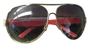 Marc Jacobs Marc Jacobs Gold Aviator Shades Sunglasses