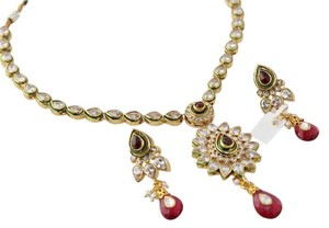 Other Kundan Polki Necklace Set