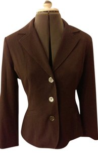 Eddie Bauer Chocolate Brown Blazer/Suit Coat