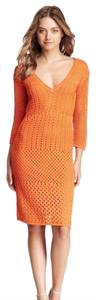 Catherine Malandrino short dress Orange on Tradesy