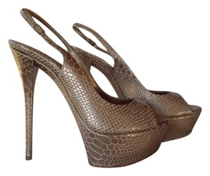 Casadei 8.5 New Gold Platforms