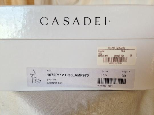 Casadei 8.5 New Gold Platforms Image 6