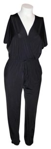 Kardashian Kollection KARDASHIAN BLACK JUMPSUIT SIZE L