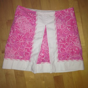 Lilly Pulitzer Mini Vibrant Mini Skirt Pink