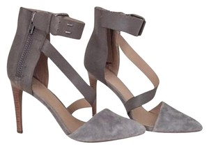 JOE'S Grey suede Pumps