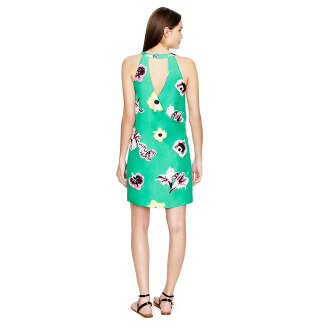 J.Crew short dress Punk Floral on Tradesy