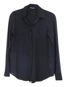 Sparkle & Fade Button Down Shirt Black