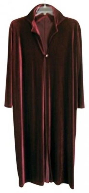 Preload https://img-static.tradesy.com/item/16209/susan-lawrence-cranberry-long-velveteen-over-jacket-night-out-top-size-22-plus-2x-0-0-650-650.jpg
