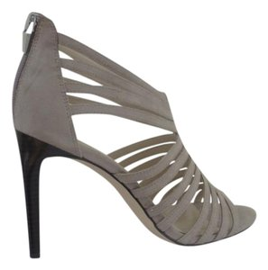 Calvin Klein Date Night Evening Strappy Taupe, Antelope, Tan Sandals