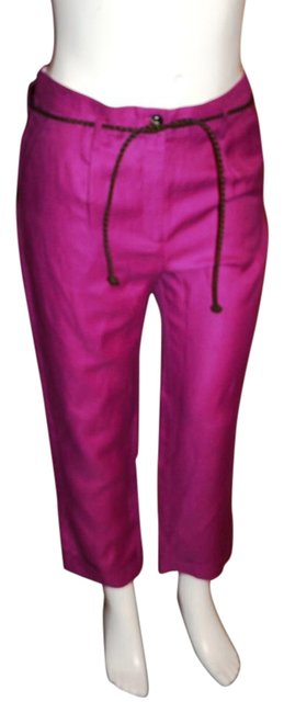 Preload https://img-static.tradesy.com/item/16211137/victoria-s-secret-pink-body-by-belted-ankle-trousers-size-10-m-31-0-1-650-650.jpg