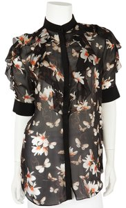 Givenchy Top Multicolor Floral Print