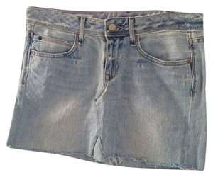 Gap Mini Mini Skirt Denim