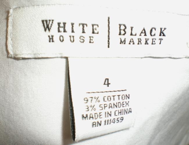 White House | Black Market Floral Stretchy Flared Dress Image 3