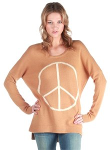Torn by Ronny Kobo Peace Wool Cashmere Sweater