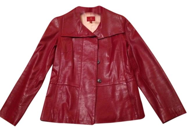 Preload https://item1.tradesy.com/images/cole-haan-red-lambskin-leather-jacket-size-2-xs-1621185-0-0.jpg?width=400&height=650