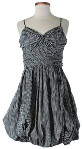 Tracy Reese short dress Black & White Striped Sweetheart on Tradesy