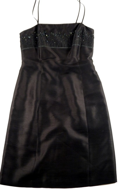Ann Taylor Silk Spaghetti Strap With Sequin Embellishment Dress - 70% Off Retail chic