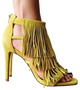 Steve Madden Yellow Pumps