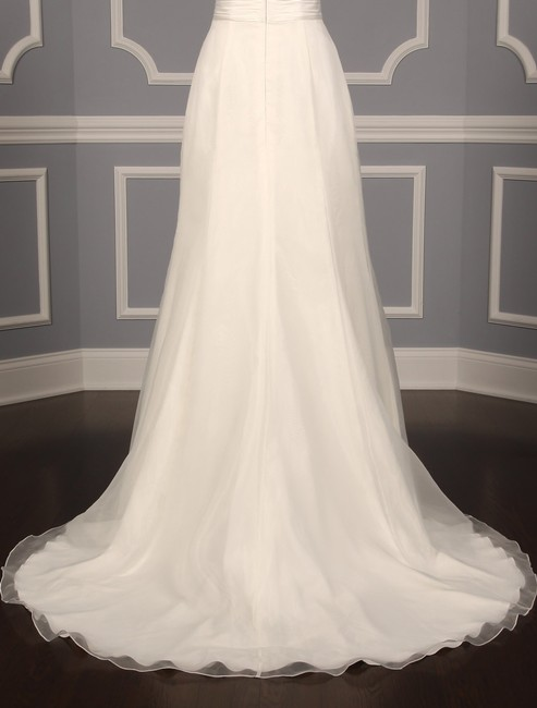 Anne Barge Pearl (Light Ivory) Organza and Alencon Lace Swansea Formal Wedding Dress Size 0 (XS) Anne Barge Pearl (Light Ivory) Organza and Alencon Lace Swansea Formal Wedding Dress Size 0 (XS) Image 10