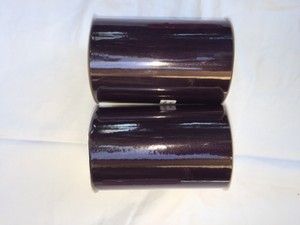 Two Rolls Of 6 In X 100 Yards Plum Tulle.