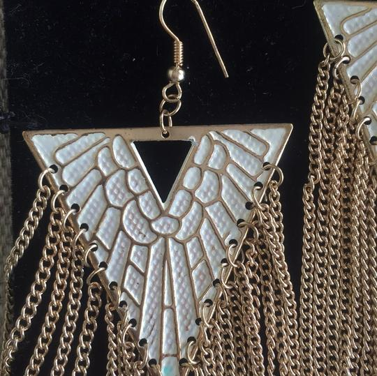 Statement deco style earrings Image 1