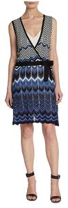BCBGMAXAZRIA short dress multi color on Tradesy