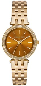 Michael Kors Darci Mini Gold Dial Gold-tone Ladies Watch MK3408