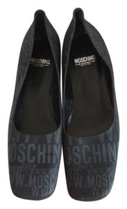 Moschino Black nylon Flats