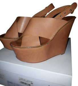 Chloé tuscan calf/tan Platforms